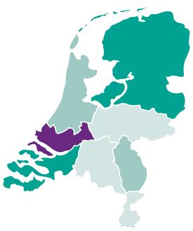 Kaart-Zuid-Holland KL