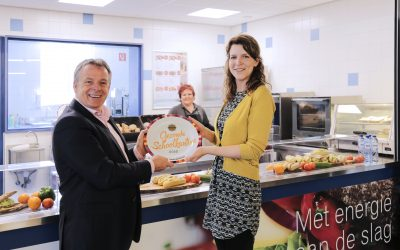 Catermaat voert 1e gouden schoolkantine van Nederland in!